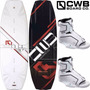 Tabla De Wakeboard Cwb Pure 134 Y 141 Con Botas Optima 5-8