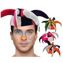 Sombreros De Paño Arlequín Cotillón Carioca Fiesta Pack X10