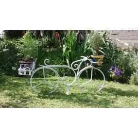 Bicicleta Para Jardin Vintage De Herreria