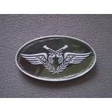 Distintivo Emborrachado Elipse Policia Do Exército (pe)
