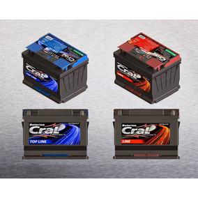Bateria Cral 60 Amperes, 18 Mês De Garantia