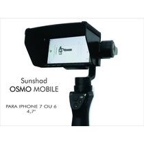 Dji Para Sol Iphone 7 Ou 6 Para Osmo Mobile