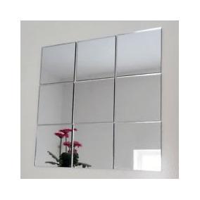 kit espejos cuadrados decoracion bao oficina living etc