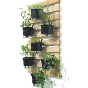 Jardineira Floreira Vertical De Parede Madeira Nova 90x75 Cm