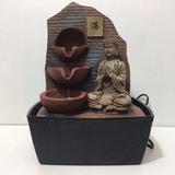 Fuente De Agua Con Buda Feng Shui El Mejor Precio ! 26 Cm !