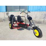 Novidade Triciclo Pedal Kart Para 2 Pessoas Lançamento