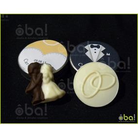 Latitas Souvenir Con Chocolate Bodas, Casamiento, Cumpleaños