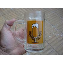 1 Chops De Vidrio Con Publicidad Cerveza Brahma