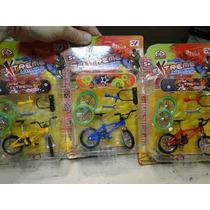 Kit 03 Mini Bicicleta Dedo+03 Mini Skate De Dedo+ Acessorios
