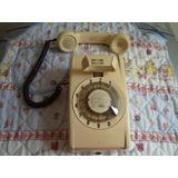 Telefono Antiguo Retro Vintage Indetel De Disco De Pared