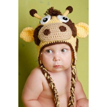 Gorro Para Bebes Y Niños Tejida A Crochet De Lana O Algodon!