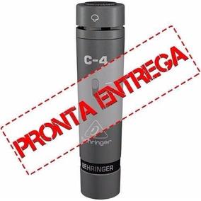 Microfone Profissional Condensador Behringer C-4 Acústico