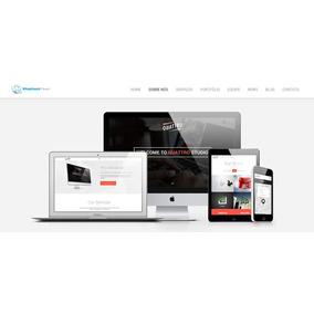 Script Php Site Corporativo + Blog + Admin Site Responsivo