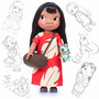 Princesa Disney Animators Muñeca Lilo (de Lilo Y Stich)