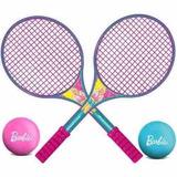Raquete De Tênis Da Barbie Ref.; 421 Lider