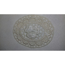 Antiguas Servilletas Manteles Carpetas Aplique Crochet Leer