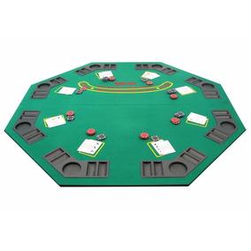 Sobremesa De Juego (poker, Blackjack, Naipes) 8 Jugadores