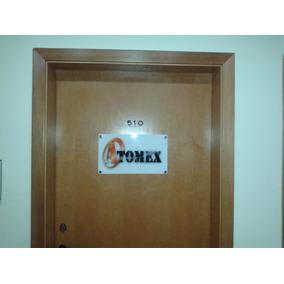 Placa Em Acrílico Para Identificação De Salas/escritórios