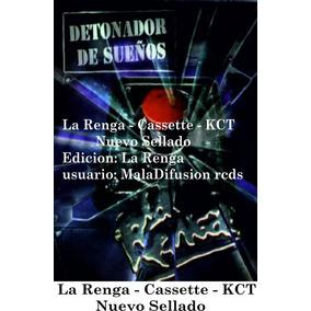 La Renga -cassette Detonador De Sueños- Nuevo Sellado Rock