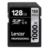 Cartao Lexar Sdxc 1000x 150mb/s 128gb Sd Camera Digital Dslr