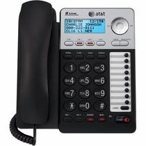 Teléfono Dos Líneas At&t Ml17928 2 Líneas Identificador