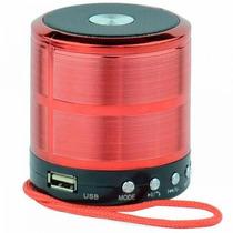 Caixa Som Portátil Bluetooth Wireless Pendrive Fm Mp3 Sd 887