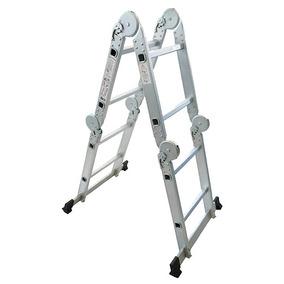 Escalera Plegable Aluminio Multifuncional 3.5mts Articulada,