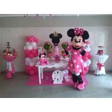 Muñecotes Show Minnie Mickey Frozen Leones Magallanes