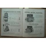 Catalogo Telefonos Arañas Y Apliques Iluminacion Ingles 1904