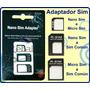 Adaptador De Chip Nano Sim Micro Sim. Ancel Movistar Claro