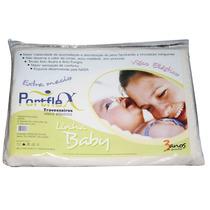 Travesseiro Baby Nasa Visco Elástico Original 33cm X 22cm