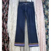 Calça Jeans Planet Girls 38 Lycra Cintura Baixa Reciclada