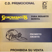 Cd Guacharacos De Colombia Grupo Picante Promo Usado