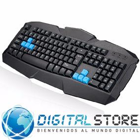 Teclado Gaming Gamer Usb Keyboard Black F1 Original