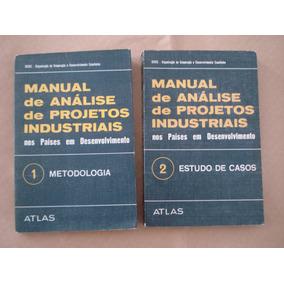 Livro Manual De Análise De Projetos Industriais Volume 1 E 2