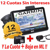 Gps 7 Garmin Tv Digital Marca Bak 8 Gb* + Camara Gtia 1 Año