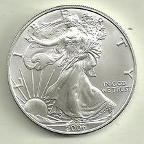 Moneda Estados Unidos 1 Onza Plata Año 1987/2015 A Elegir