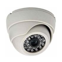 Câmera De Segurança Residencial Dome Branca 1000 Linhas Cftv