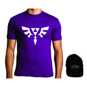 Camiseta League Of Legends + Boné