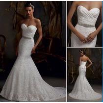 Vestido De Novia Importados Sirena Corset, Exquisito!!!