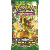 5 Boosters Pokemon Xy10 Fusao De Destinos - O Melhor Preço