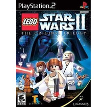 Lego Star Wars Ii The Original Trilo Ps2 Patch + 2 De Brinde
