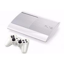 Playstation 3 Super Slim 320gb Branco Novo Pronta Entrega