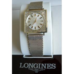 Exclusivo Reloj Oro Solido Longines Mecanico Cuerda 17 Rubis