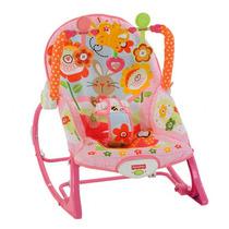 Cadeira De Balanço Minha Infância Menina - Fisher Price