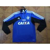 Agasalho Flamengo Moleton Azul Treino Tamanho M