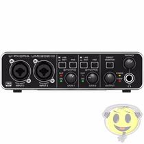 Interface Audio Usb Behringer Midas Umc 202 Hd - Kadu Som