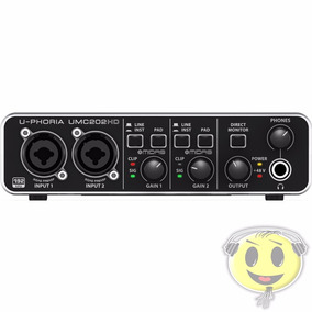 Interface Audio Usb Behringer Midas Umc202 Hd - Kadu Som