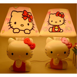 Hermosa Lampara Hello Kitty Juguetes Niñas