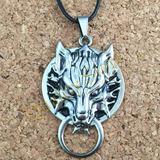 Collar Logo Lobo Final Fantasy Gamer Video Juego